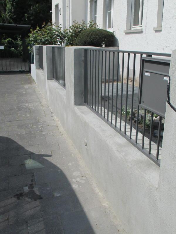 Sanierung Gartenmauer