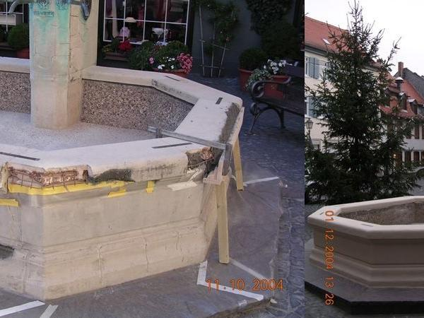 Schirnbrunnen Sanierung